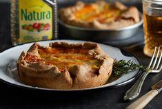 Tarta de choclo en masa integral | Recetas Natura Glee, Camembert Cheese, French Toast, Breakfast, Desserts, Food, Grated Cheese, Pastries, Easy Food Recipes