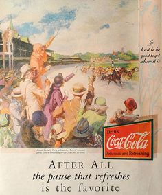 1931 Coke At The Races | Flickr - Photo Sharing!