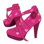 clip art heels | Stiletto illustrations and clipart