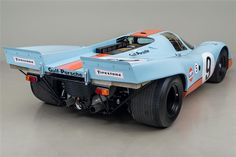 1969 Porsche 917K Gulf - Click to see full-size photo viewer