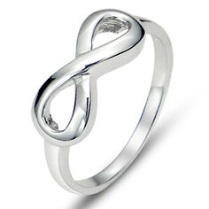 925 Sterling Silver Infinity Symbol Wedding Band Ring >>> This is an Amazon Affiliate link. You can find out more details at the link of the image.