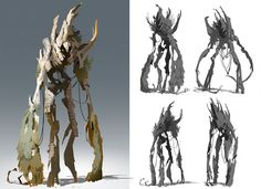 Creature development for an internal R&D project. The project was a fantasy adventure game centered around cooperative combat and driven by story. Mythical Creatures Art, Forest Creatures, Alien Creatures, Cute Fantasy Creatures, Creature Concept Art, Creature Design, Game Character Design, Character Art, Fantasy Kunst