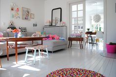 lysegrå gulve med epoxy maling