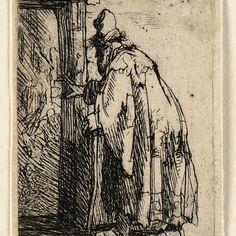 Rembrandt, De blinde Tobit ( B 153 ), 1629. Teylers Museum