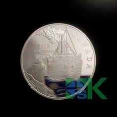 DHL бесплатная доставка 50 шт./лот серебряная монета Елизавета II канада 2012 Фиджи посеребренной латуни монету, sovenir монет
