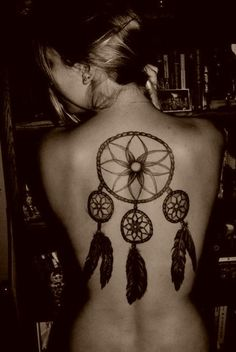 Http Www Thedawgpound Com 2011 10 Girls With Dream Catcher Tattoo Design 469x700 Pixel