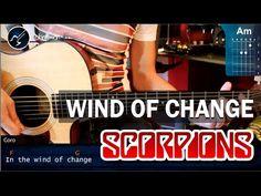 "Cómo tocar ""Wind of Change"" de Scorpions en Guitarra acústica (HD) Tutorial - Christianvib - YouTube"
