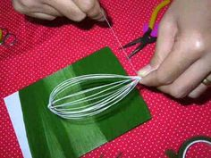 How to make stocking flower (lily) by www.ployandpoom.com