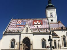 **St. Mark's Church (Crkva sv. Marka) (upper town church with unique rooftop) - Zagreb, Croatia