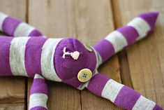 How to make sock animals. DIY Tutorial via lilblueboo.com