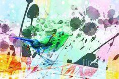 Robin watercolour by Sebastien Coell