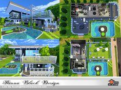 Rinna Black Design house by autaki at TSR