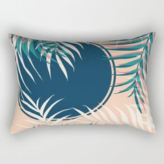 Tropical Sun #society6 #decor #buyart Rectangular Pillow