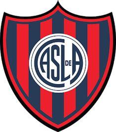 San Lorenzo of Argentina crest. Football Team Logos, World Football, Soccer World, Air Canada Centre, Badges, Sporting, Chicago Cubs Logo, Juventus Logo, Crests