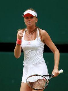 Daniela Hantuchova adidas tennis dress