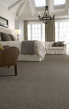 Brand new to Tuftex's popular Striated Collection, Sonora is a sophisticated cut and loop diamond lattice design. Its textural striated variations are paired with a classic motif to create a relaxed and distressed look while adding a sparkle of glamour to the floor.