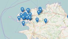 Carte des acteurs de l'ESS du pays de Brest