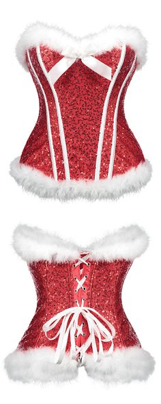 Women S Over 50 Fashion Styles 2015 Sexy Christmas Outfit, Grinch, Western Girl, Sexy Dresses, Corset Dresses, Red Lingerie, Romantic Gifts, Ladies Party, Cool Outfits