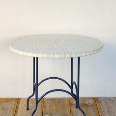 Awesome Marble and Wrought Iron Coffee Table