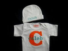 Monogram Baby Boy Clothes  Personalized Baby Boy Take by LilMamas, $26.00