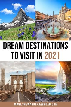 37 Dream Destinations to Add to Your 2021 Travel Bucket List