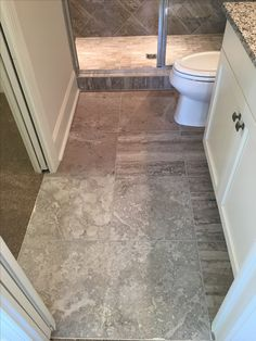 Secondary Bath floor