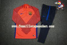 A vendre Nouveau Homme : Survetement De Football Barcelona Club Orange 2016 17 18 france En ligne