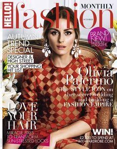 Olivia Palermo on Hello! Fashion October 2014 Cover