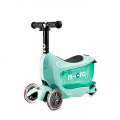 MICRO Scooter child MINI2GO DELUXE PLUS Mint Kids 3-wheel scooter