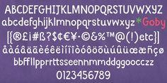 Goby - Webfont & Desktop font « MyFonts