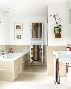 Family bathroom, styled by www.feronclarkstyle.com