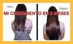Champú casero , elaborado con ingredientes a tu alcance que logra duplicar el tamaño de tu pelo en 6 meses COMPROBADO!!!
