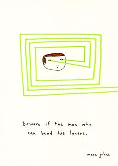 Marc Johns: I have celebrity crushes on a lot of the artists on my google reader but marc johns just might be number 1. Who wouldn't want to catch a drink with this guy? I love his quirky humor.