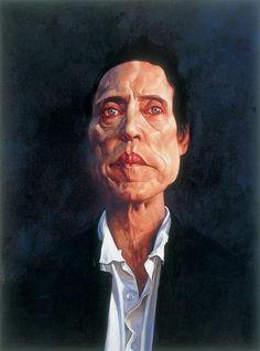 Caricature Christopher Walken