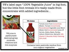 Don't Fall Victim To These Tricky Juice Labels on http://foodbabe.com