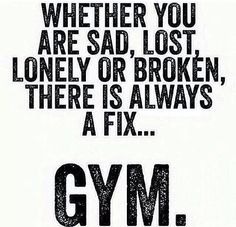 You won't regret a good workout.