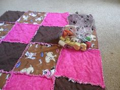 Quilts for the doggies in your life as well....