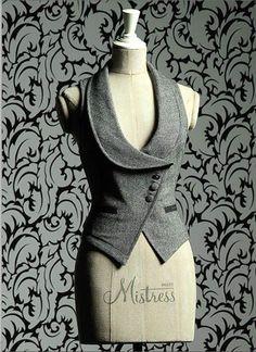 chaleco traje mujer - Buscar con Google