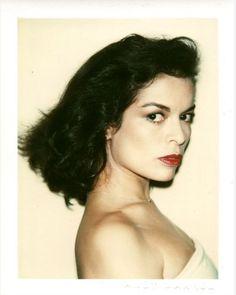 Andy Warhol / Polaroid / Bianca Jagger