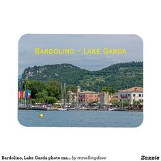 Bardolino, Lake Garda photo magnet