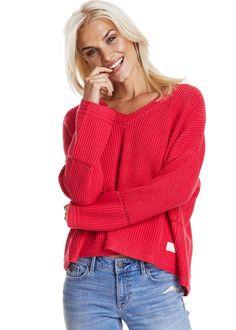 Odd Molly Oversize Sweater 717M-718 Orchestra Sweater - raspberry