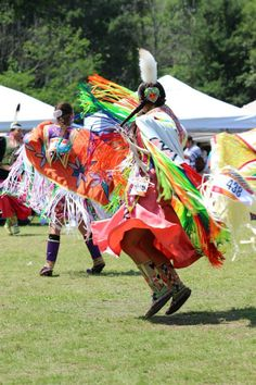 Dancer, Cherokee NC Pow Wow