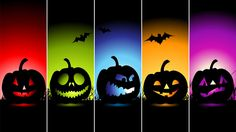 """Ready to go for """"Trick or Treat"""" in your Halloween costume? Gift this Halloween wallpaper HD to your friends who are going to accompany you on this Halloween night. Halloween Mono, Photo Halloween, Happy Halloween Pictures, Theme Halloween, Halloween 2014, Halloween Images, Holidays Halloween, Scary Halloween, Halloween Pumpkins"""