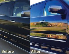 Cilajet review: Take a look at the dramatic before and after shots of a client's beautifully protected Denali taken at one our our Authorized Cilajet Dealerships Willis Auto Campus!
