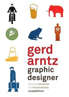 Gerd Arntz- Graphic Designer book cover
