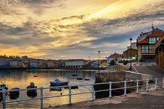 El Muelle. Luanco Villa, Explore, Littoral Zone, Boat Dock, Sunsets, Fishing, Earth, Scenery, Photos