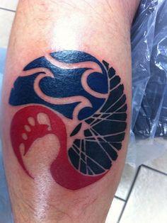 Triathlon tattoo by michaelwangsness, via Flickr