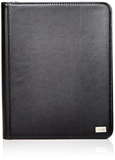 iHome Executive-Zippered Folio Case for iPad 2/3/4 Black. All-in-one case for iPad tablet and notepad. Great for meetings and on-the-go work!