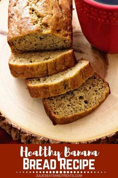 Going on a travel? Pack some of this healthy banana bread before you go. It's delicious Mini Banana Bread Loaves that are Lightened Up with Coconut Oil, Whole Wheat Flour and Truvia! Moist, Easy and Delicious Banana Bread! You'll love to munch it during t Banana Nut Bread, Healthy Banana Bread, Banana Bread Recipes, Fudge Recipes, Whole Wheat Banana Bread, Muffin Recipes, Healthy Bread Recipes, Healthy Baking, Keto Recipes