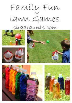 The Sugar AuntsFamily Reunion Lawn Games